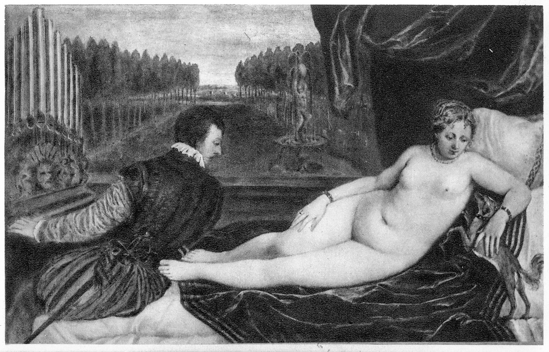Titian - Venus and the Organist